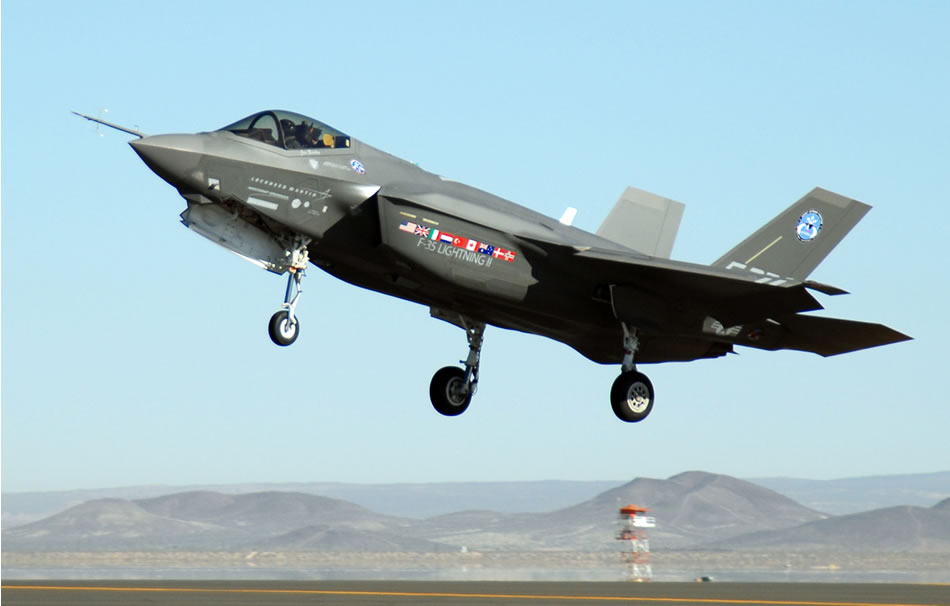 Military Photos F-35 Joint Strike Fighter AA-1