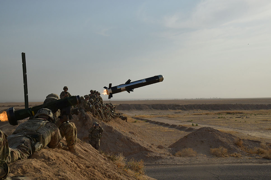 Javelin In Iraq