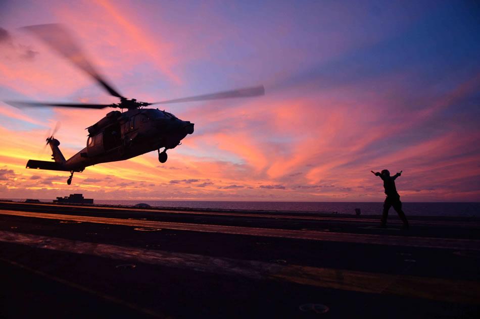 military photos eightballer sunset