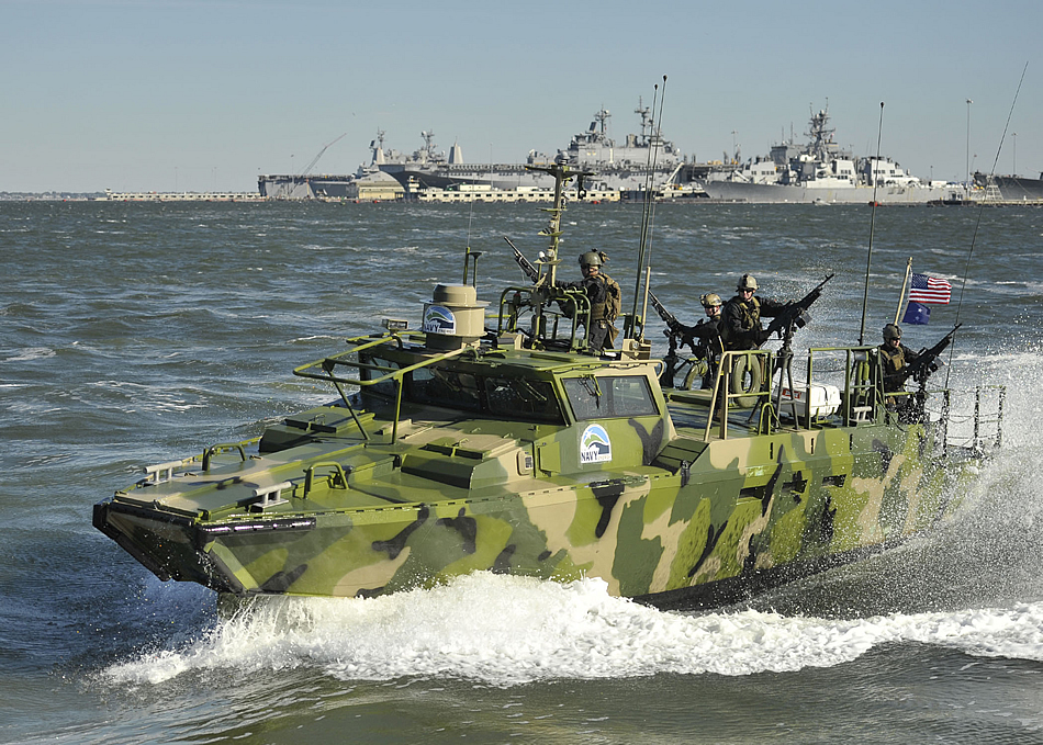 military photos experimental riverine command boat rcbx