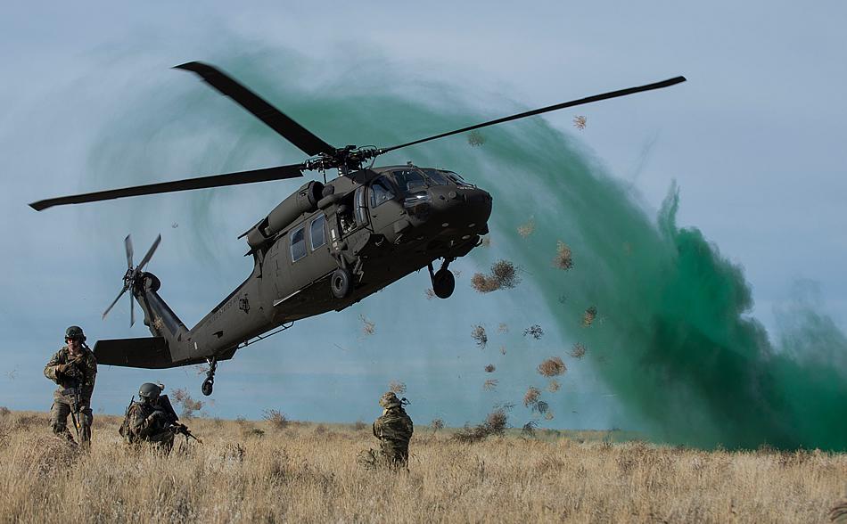 Military Photos Blackhawk Vortex