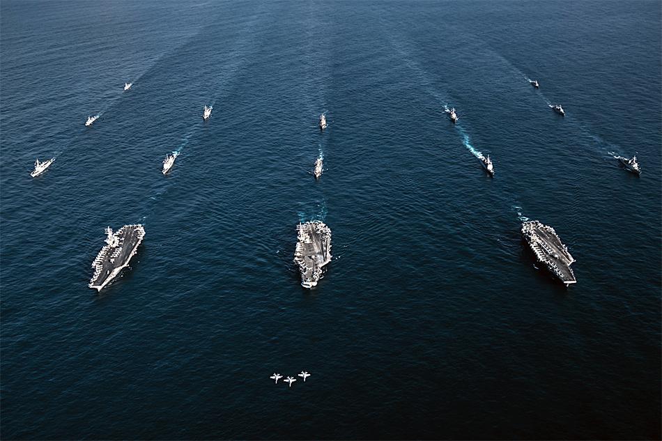 USS-Ronald-Reagan-USS-Theodore-Roosevelt