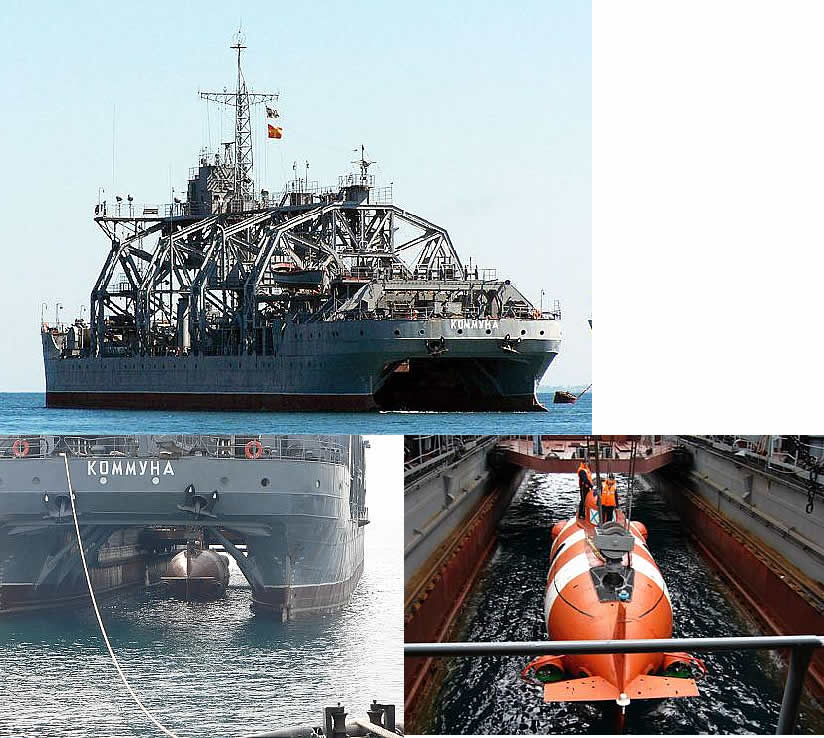 Auxilliary vessels, Special-purpose and minor naval ships - Page 11 VMF-Kommuna