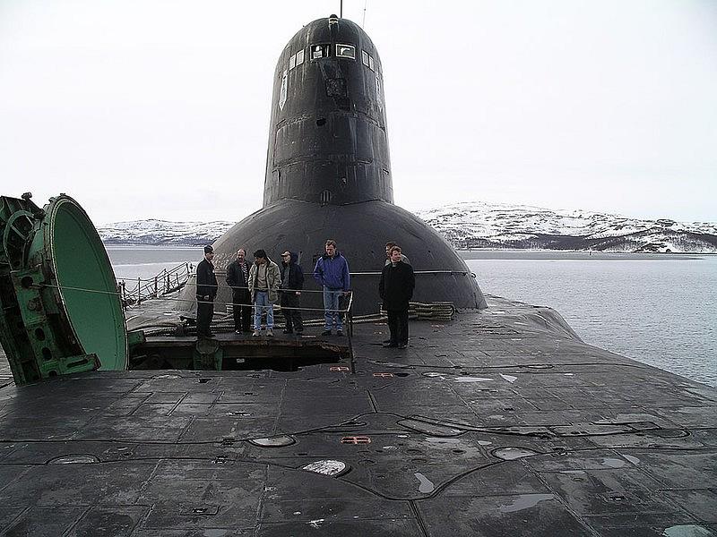 Military Photos Typhoon Class Submarine