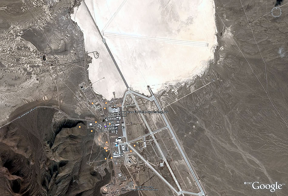 Military Photos Fun With Google Earth: Area 51