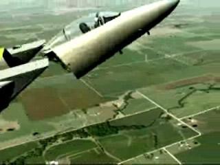 animation of f15 crash in missouri