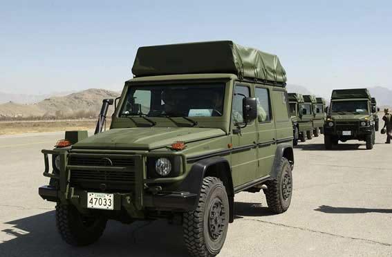 Military Photos Gelaendewagen