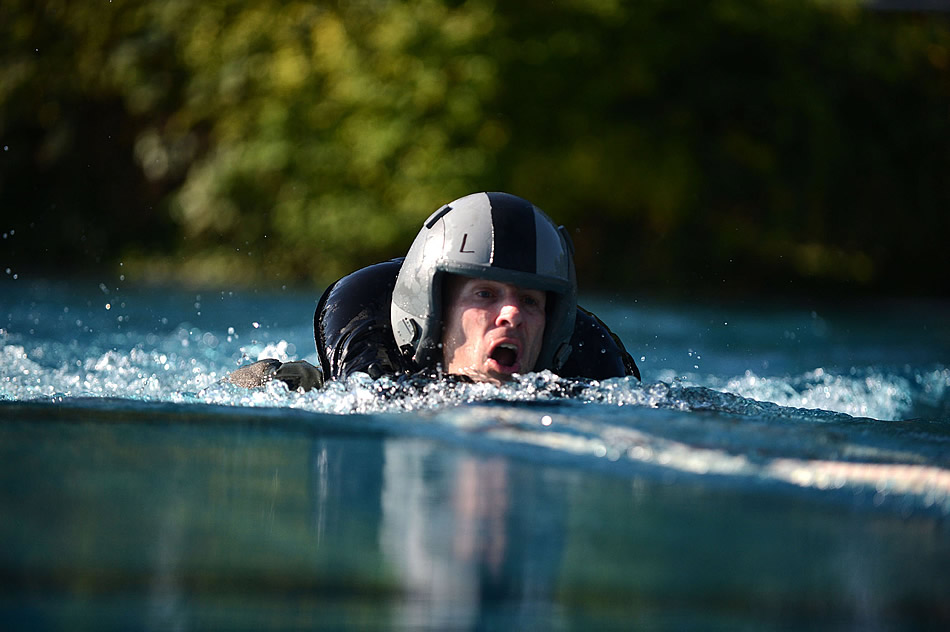 Military Photos Head Above Water