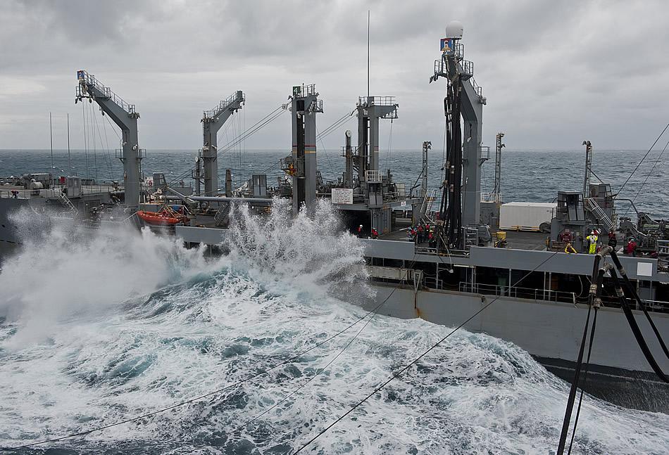 Military Photos Heavy Seas