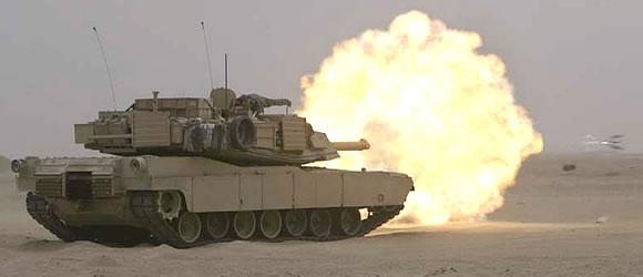 Military Photos M1A1 Firing Sabot Round
