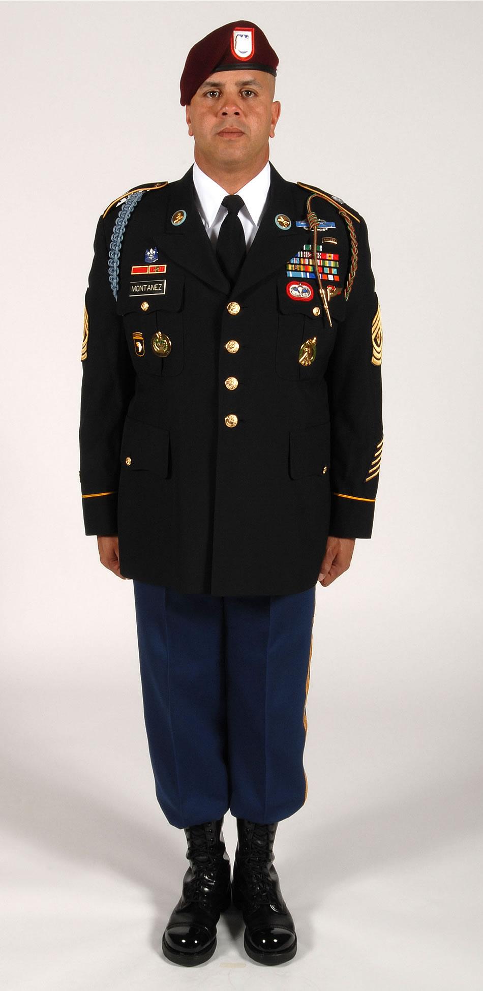 Military Photo New Army Dress Blue Uniform