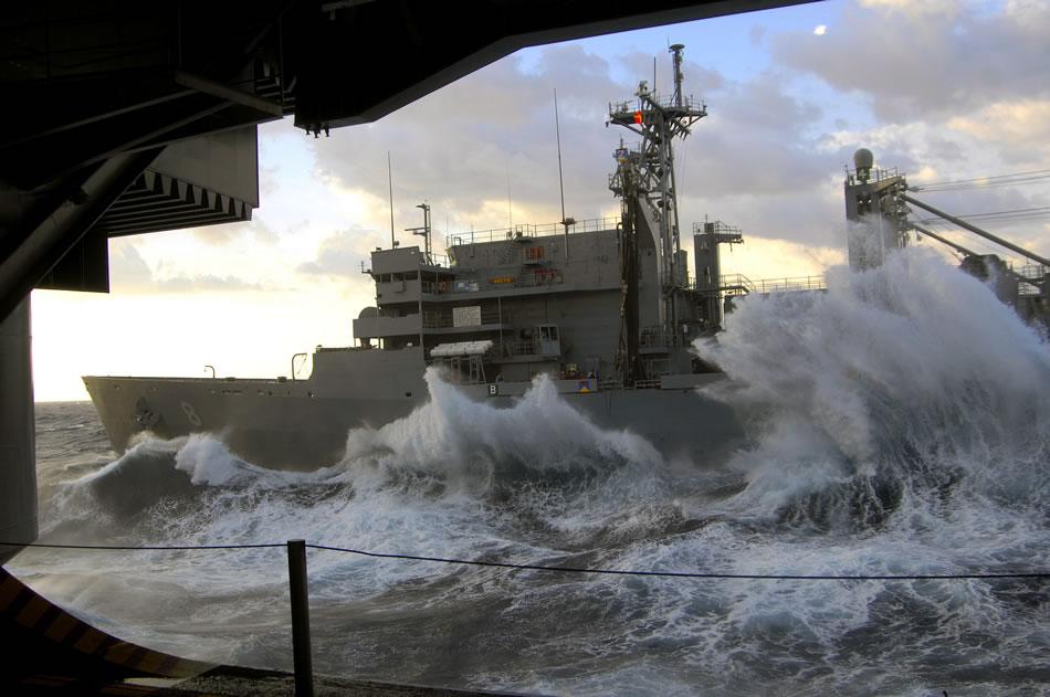 Military Photos Usns Arctic In Rough Seas