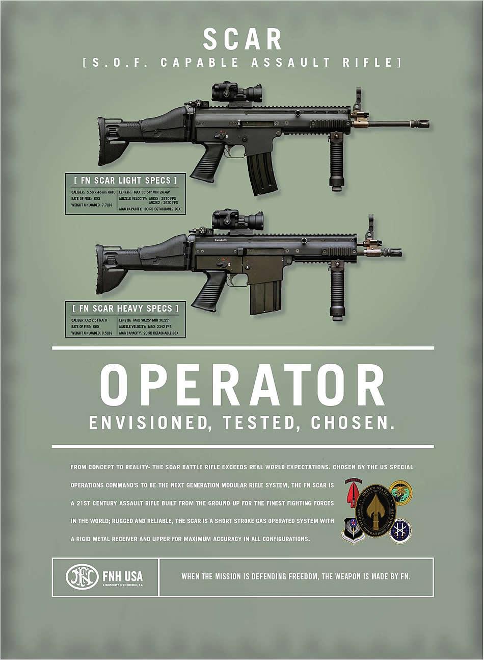 Military Photos SOF Capable Assault Rifle