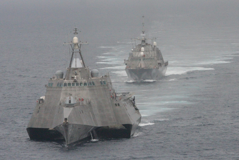 USS Freedom And USS Independence