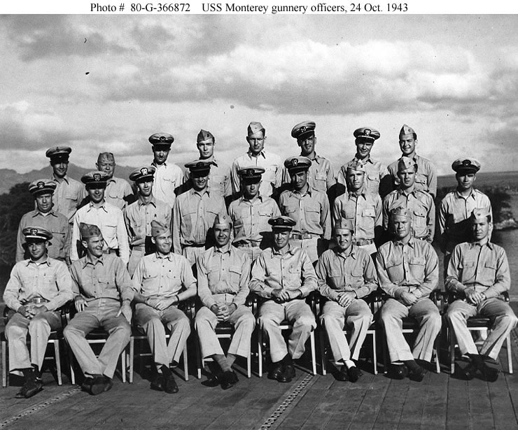 Military Photos Gerald Ford S Uss Monterey