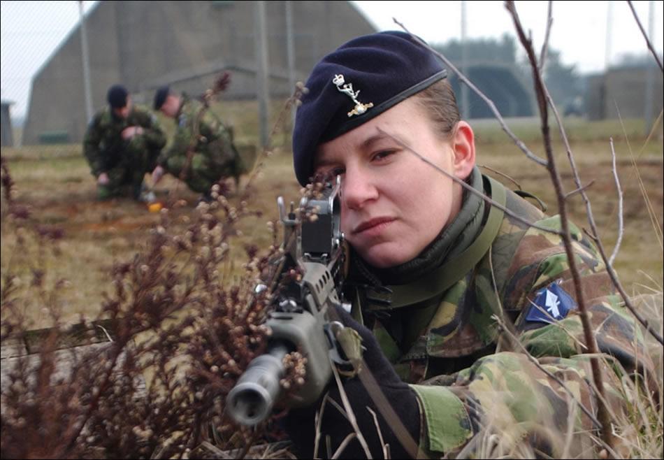 war woman: